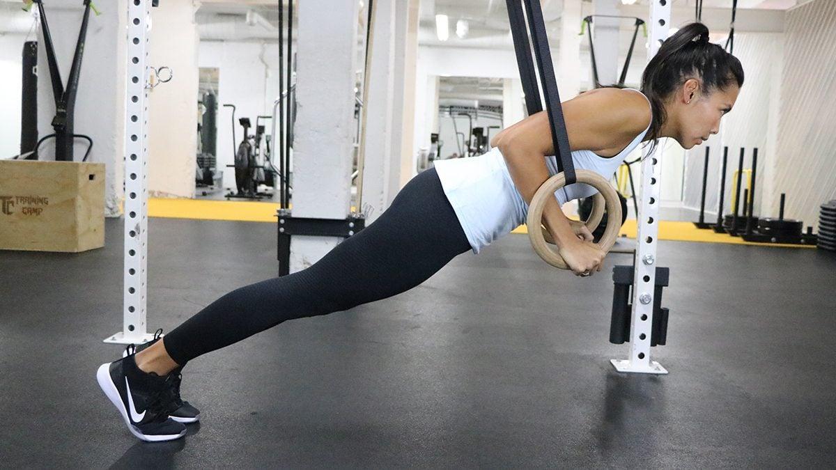 abs workout program ring push ups