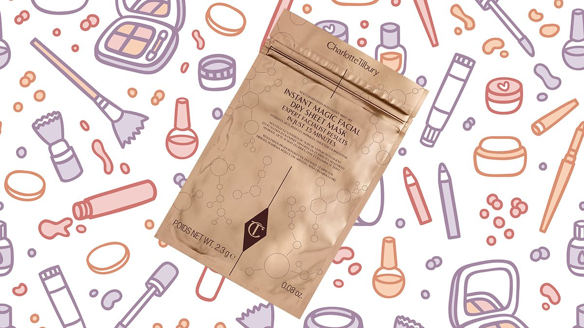 best beauty launches 2017 Charlotte Tilbury Magic Facial Dry Sheet Mask