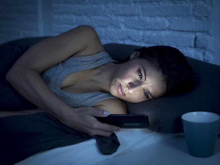 blue light tech features on phones