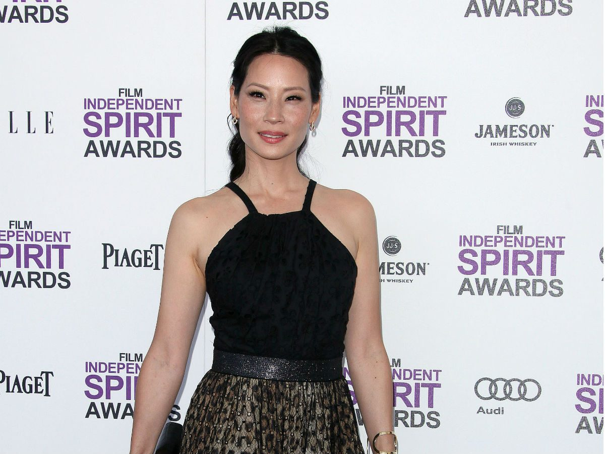 celebrity pilates workout Lucy Liu