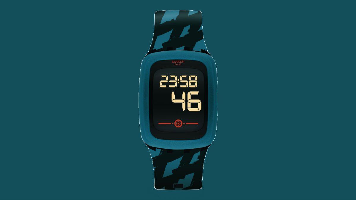 fitness smart watch Swatch PetroZero2