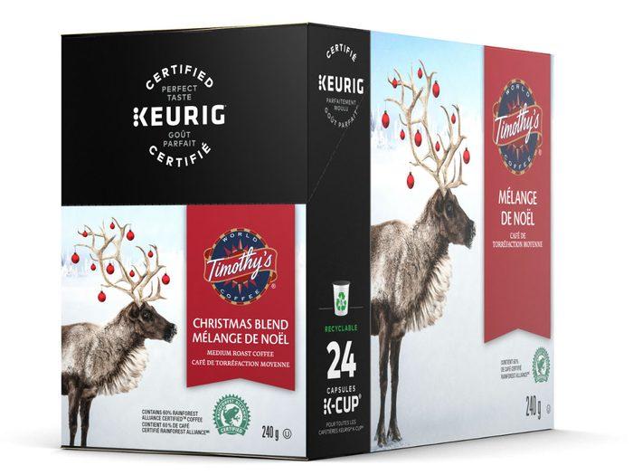holiday foods Keurig Christmas Blend