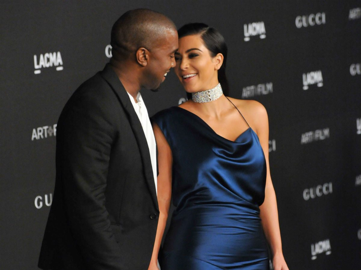 social media break Kanye West Kim Kardashian West