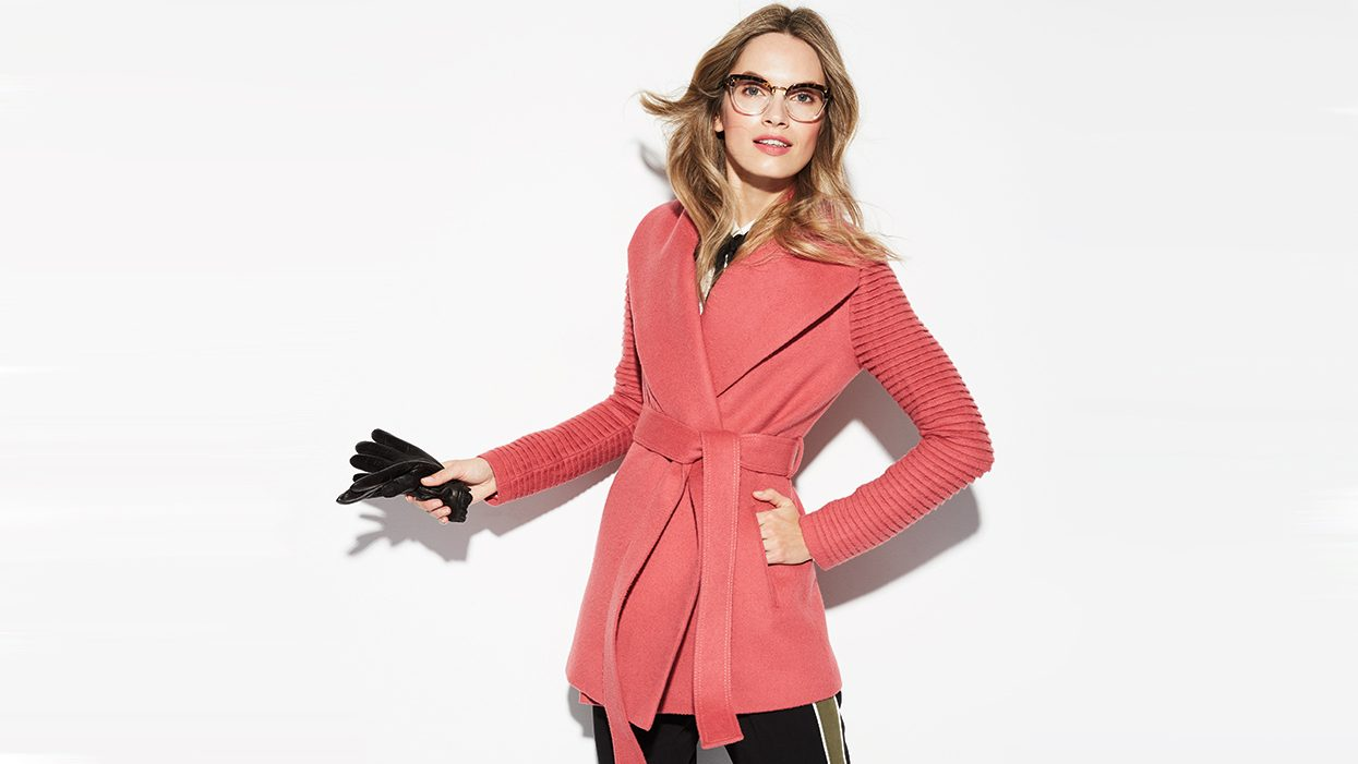 wrap coats Sentaler coat