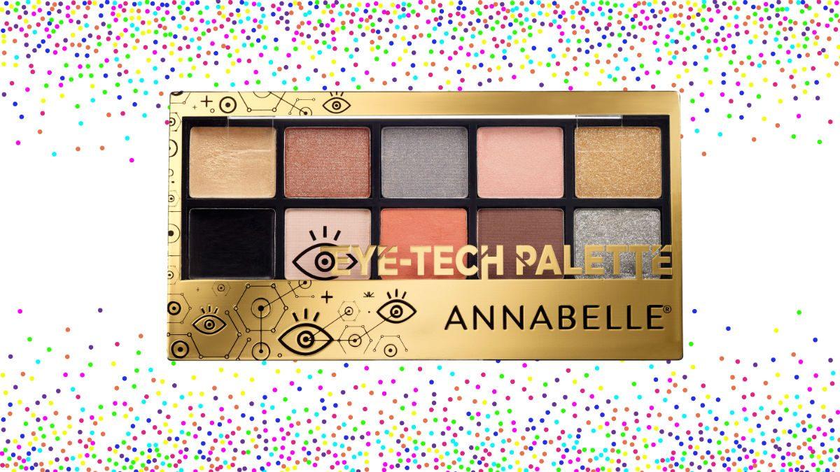 2018 beauty Annabelle Eye-Tech Palette
