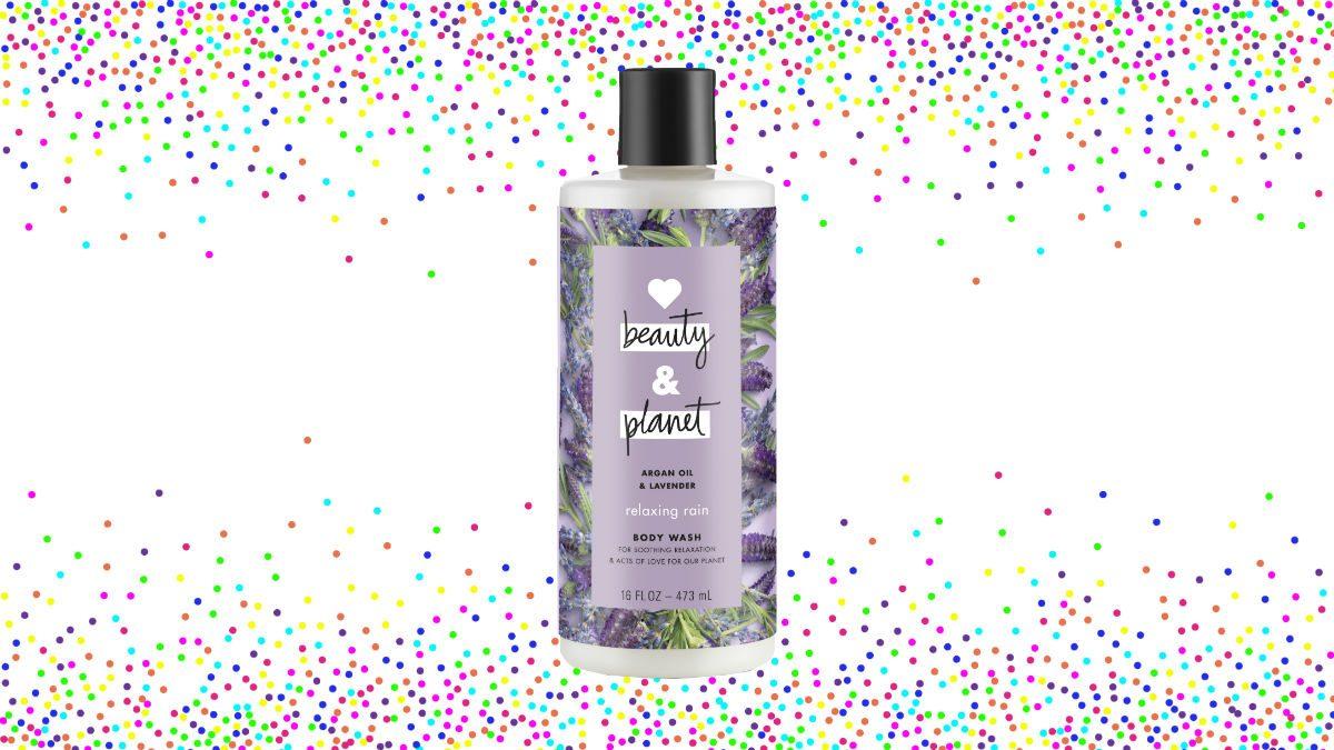 2018 beauty Love Beauty and Planet Relaxing Rain Body Wash