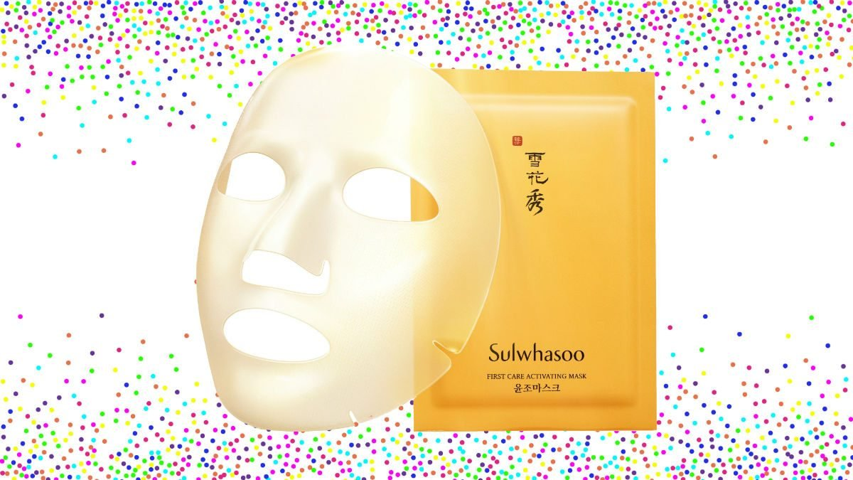 2018 beauty Sulwhasoo First Care Activating Mask