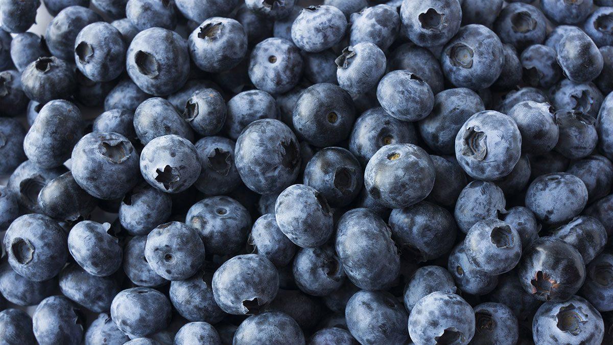 Berries, blueberries