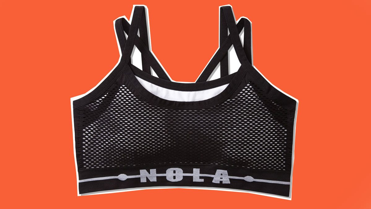 Jordyn Woods Addition Elle Nola sports bra