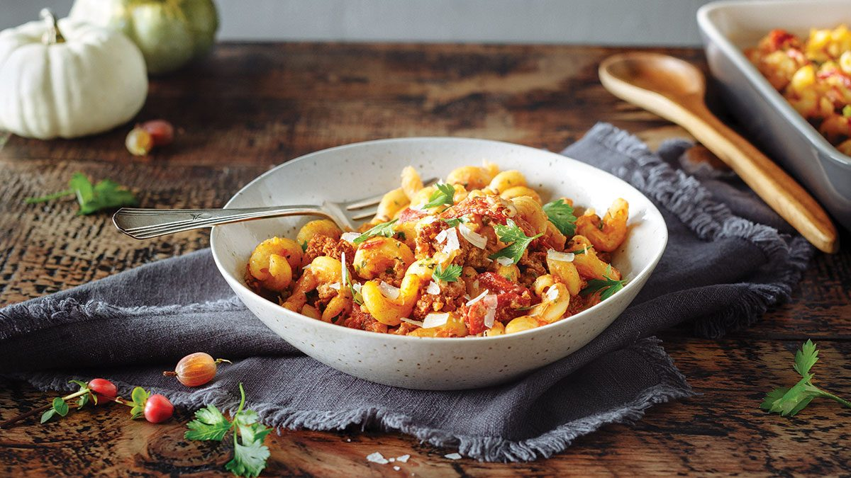 This Hearty Italian Sausage Pasta Is The Ultimate Winter Comfort Food