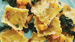 Healthy Pasta?! Yes, If You Try Our Nutrient-Packed Butternut Squash & Kale Ravioli