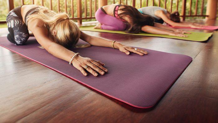 Resolutions, yoga class
