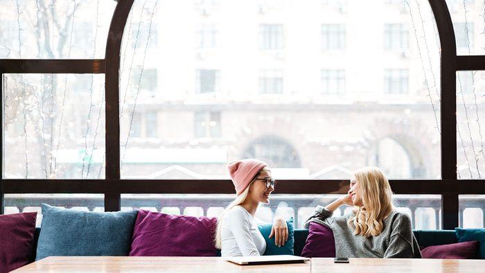 Resolutions, women talking