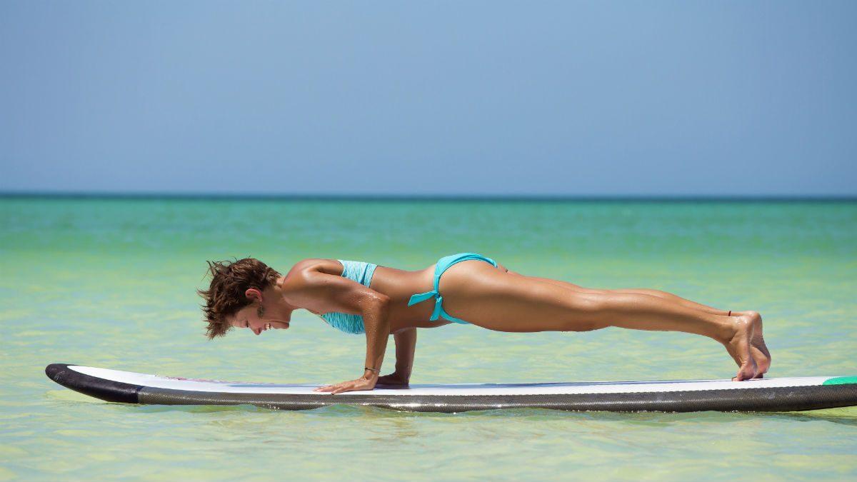 SUP yoga challenges