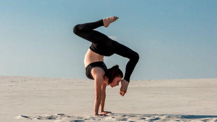 SUP yoga inversions