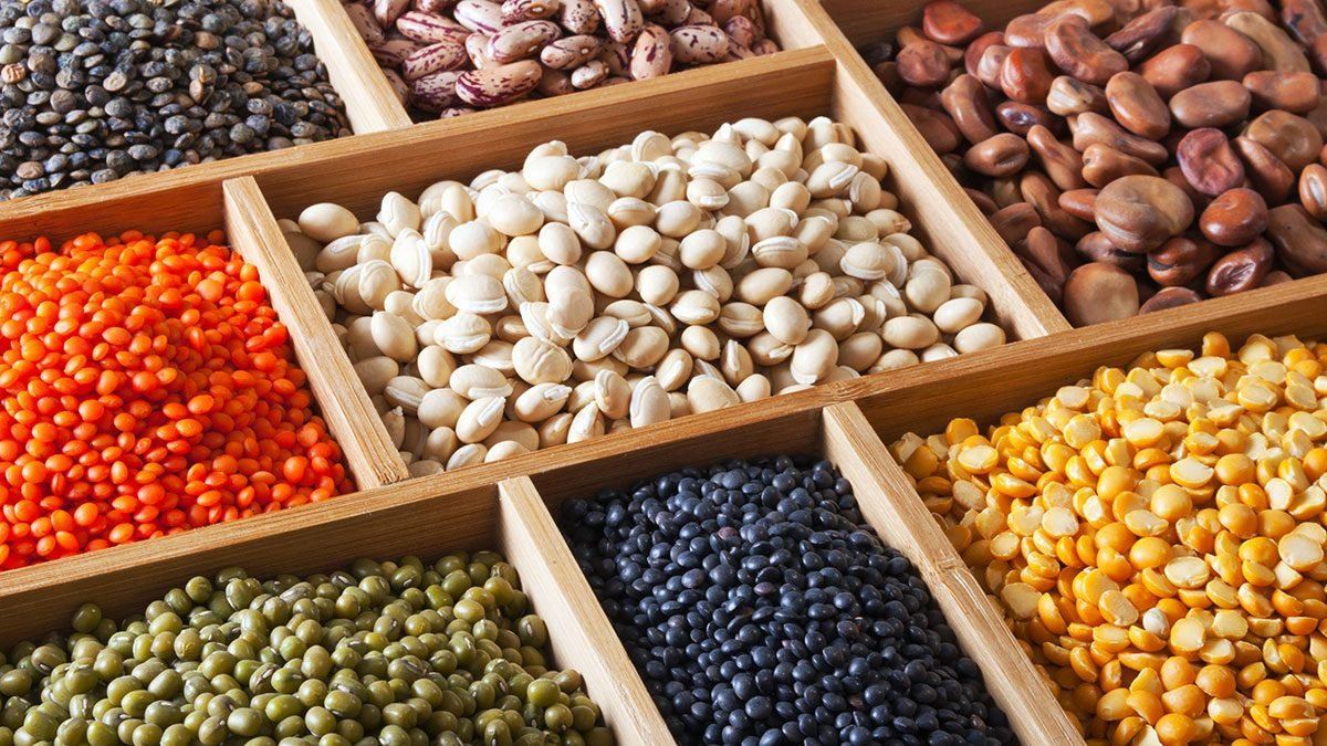 Vegan Shopping List, beans and legumes