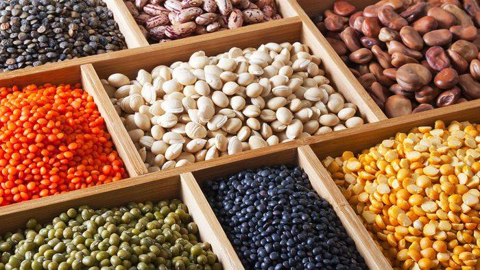 Vegan Shopping List, beans and legumes