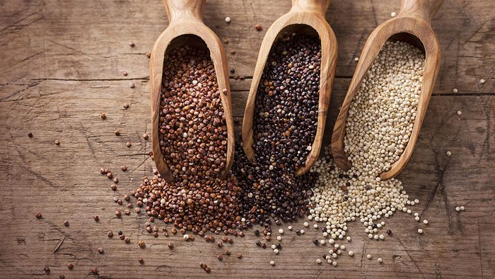Vegan Shopping List, Quinoa