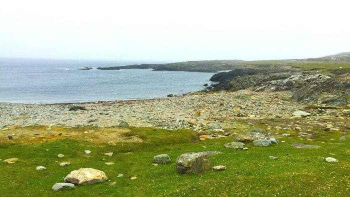 Walking Ireland Inishbofin Cove
