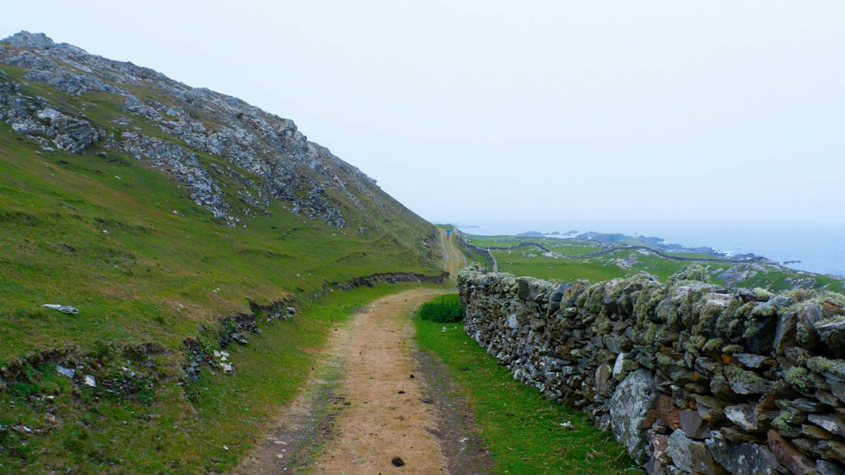 Walking Ireland Western Ireland hiking