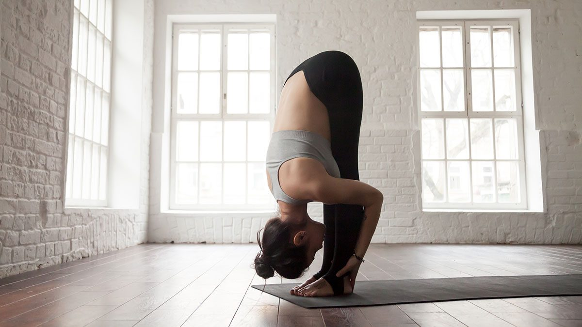 Yoga For Digestions, forward fold