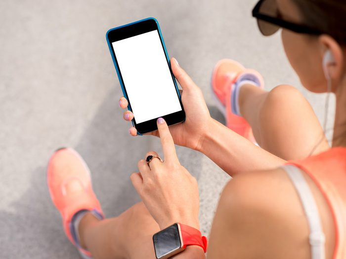 after walking 10,000 steps a day, unplug for three hours