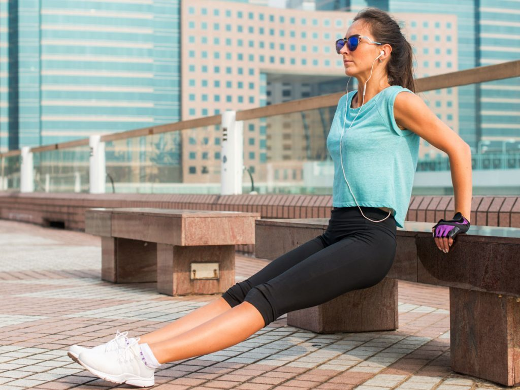 best arm exercises for women tricep dip