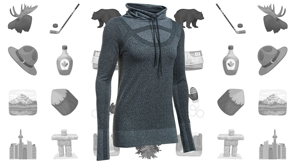 canadian-winter-Under-Armour-Threadborn-Seamless-Heathered-Funnel-Neck
