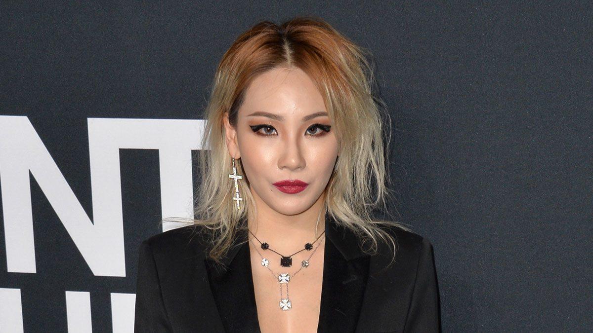 celebrity blonde stylist asian CL singer