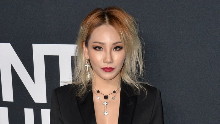 celebrity blonde stylist asian CL singer