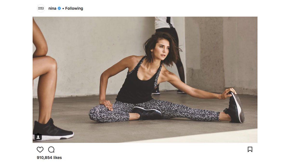 celebrity-gym-style-Nina-Dobrev