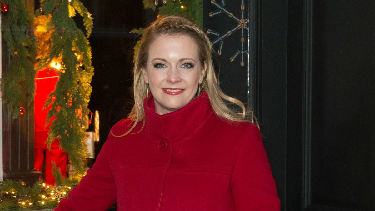 celebrity resolutions 2018 Melissa Joan Hart