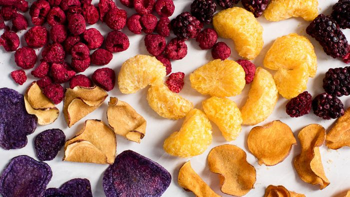 food trends 2018 dehydrated foods