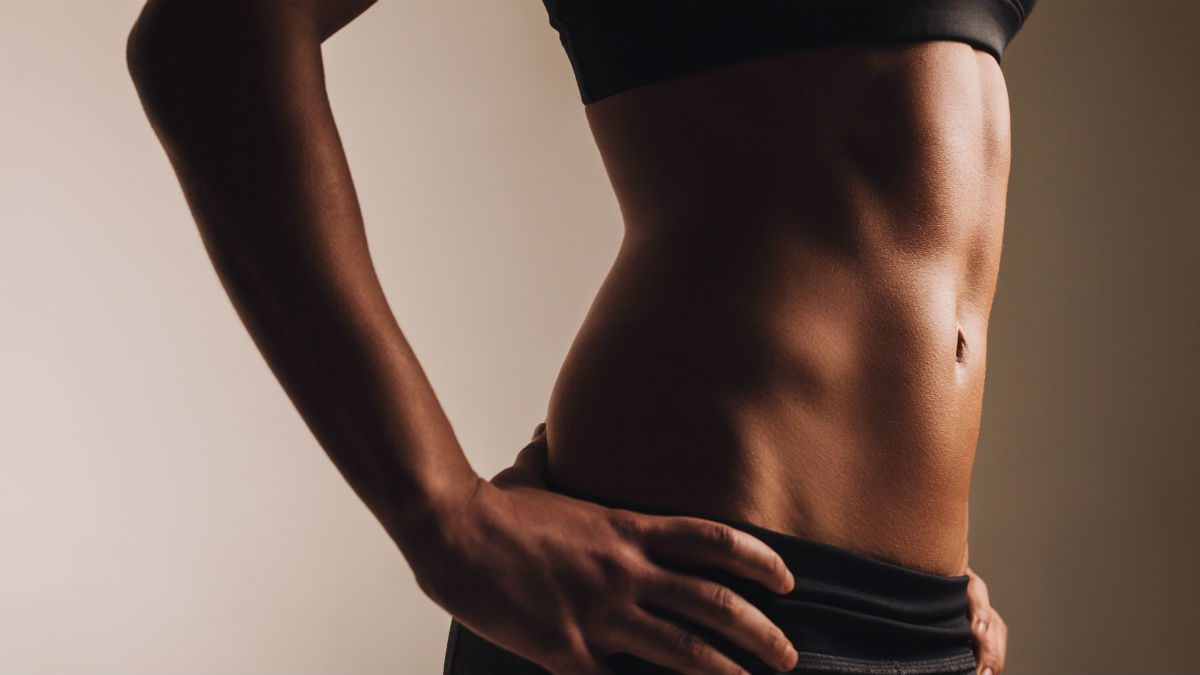 how to get abs for women body fat percentage