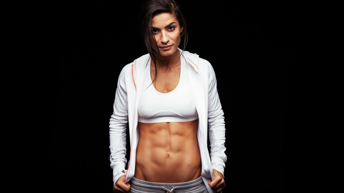how to get abs for women how many times a week work out