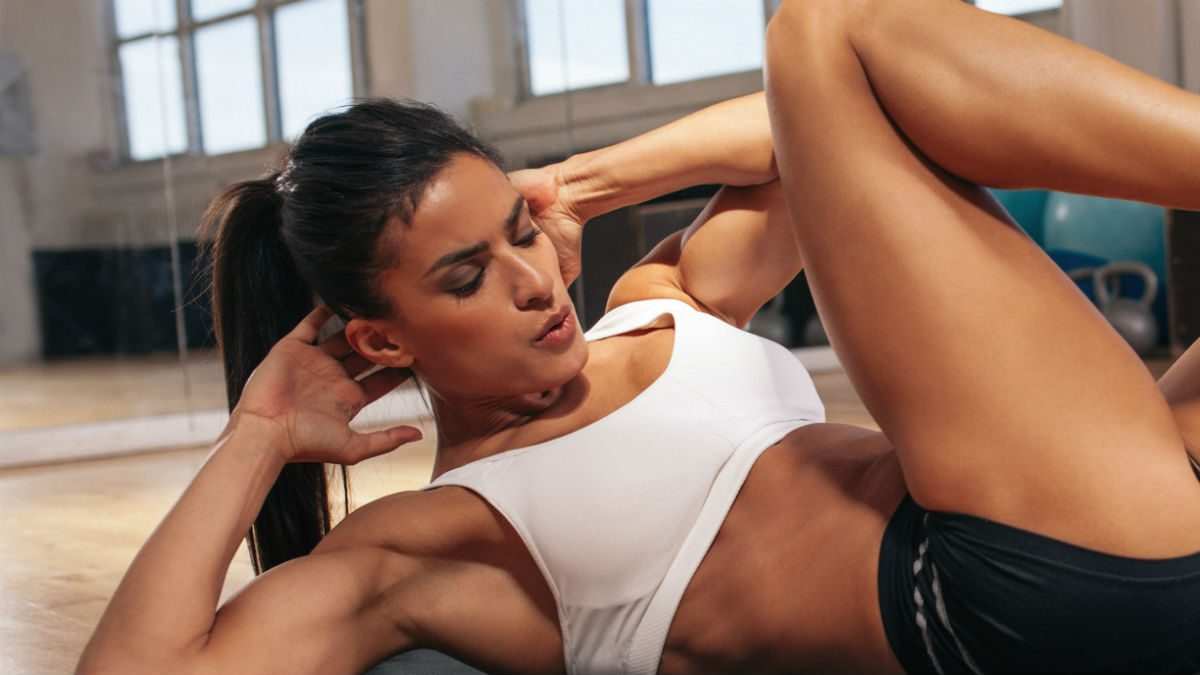 how to get abs for women intensity of exercise