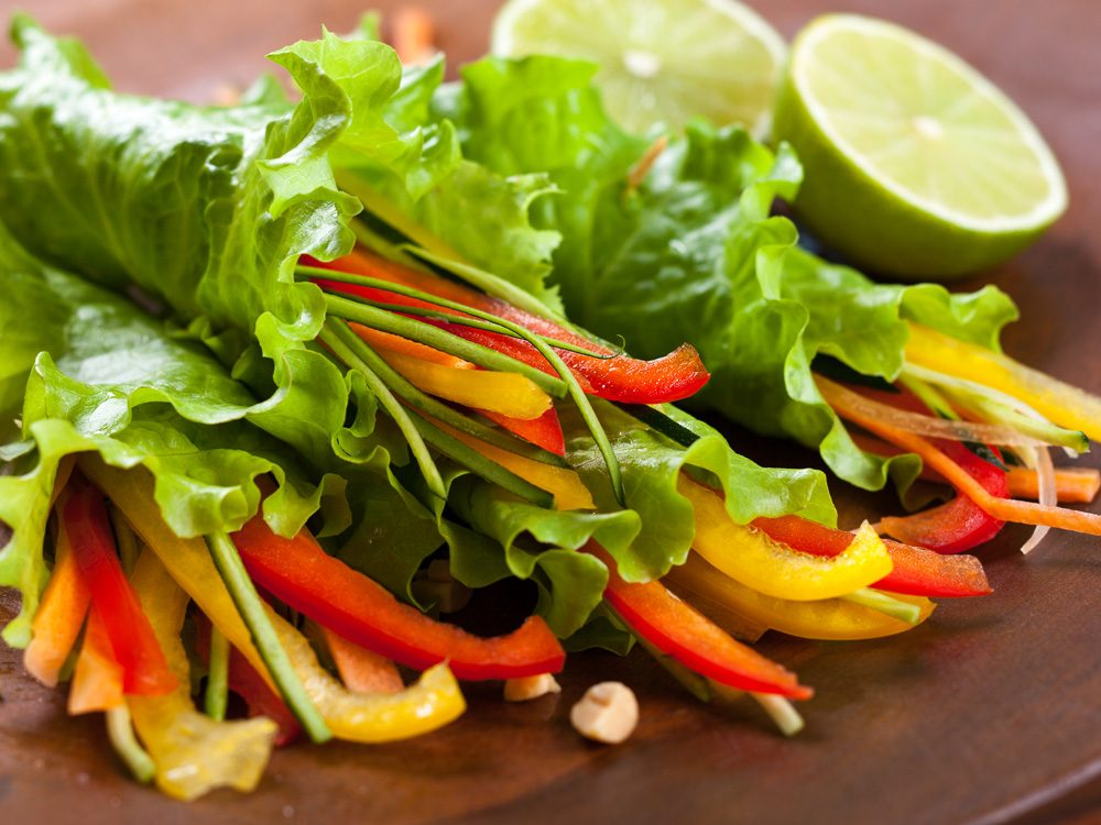 after walking 10,000 steps a day, start eating more veggies
