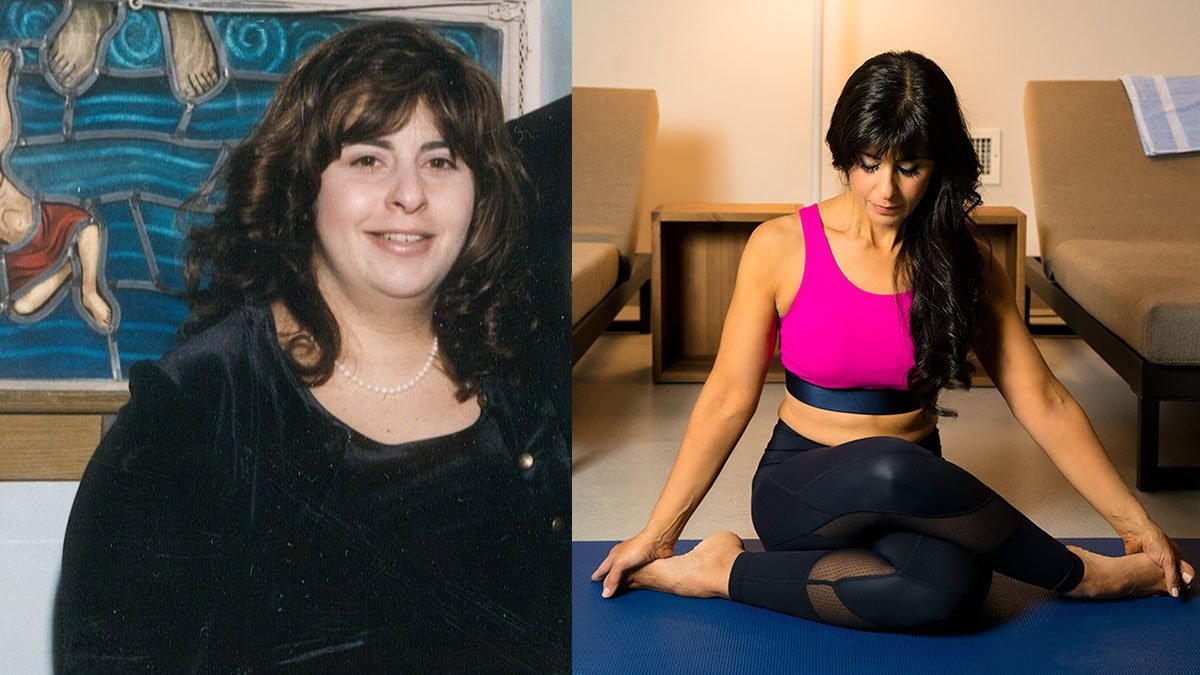 weight loss 100 pounds Charlene Bazarian