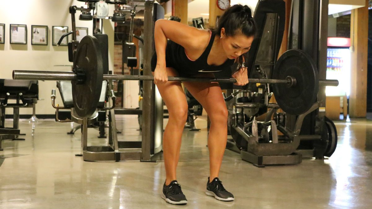 weights for women Pendlay Rows