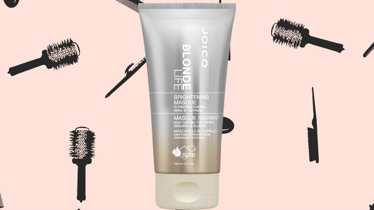 winter hair masks Joico Blonde Life Brightening Masque