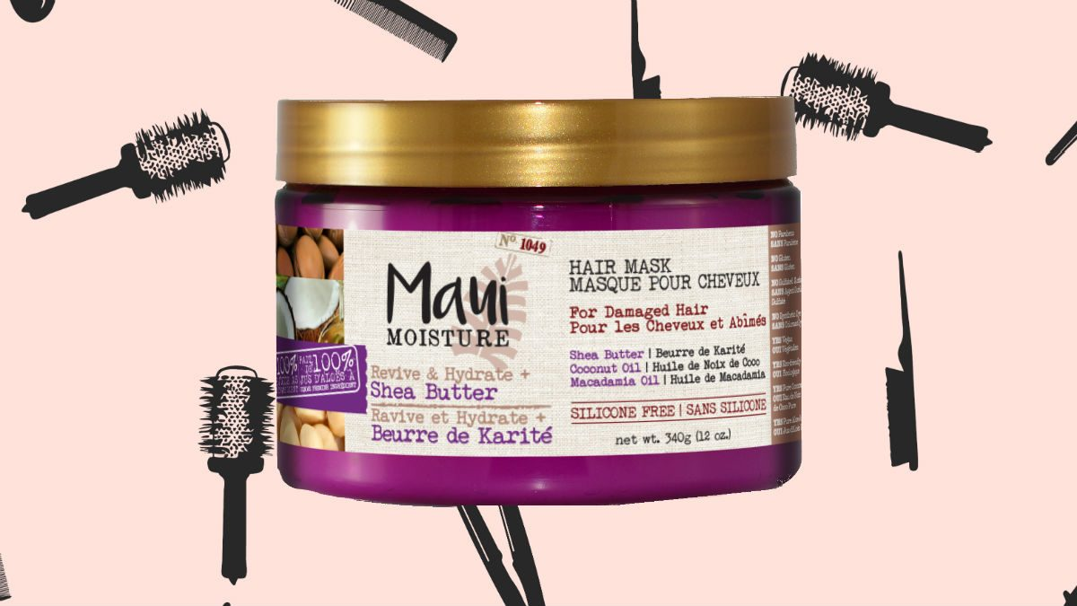 winter hair masks Maui Moisture Revive Hydrate Shea Butter Hair Mask