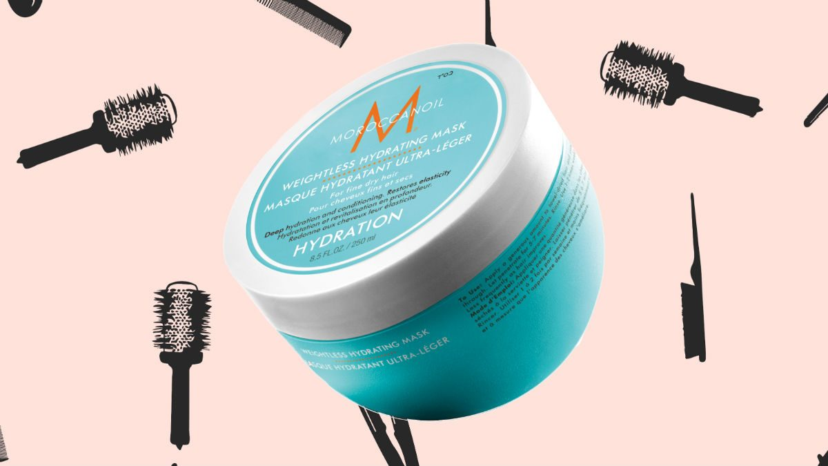 winter hair masks Moroccanoil Weightless Hydrating Mask
