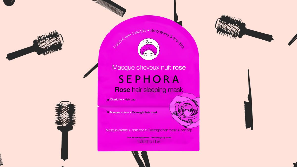 winter hair masks Sephora Rose Hair Sleeping Mask