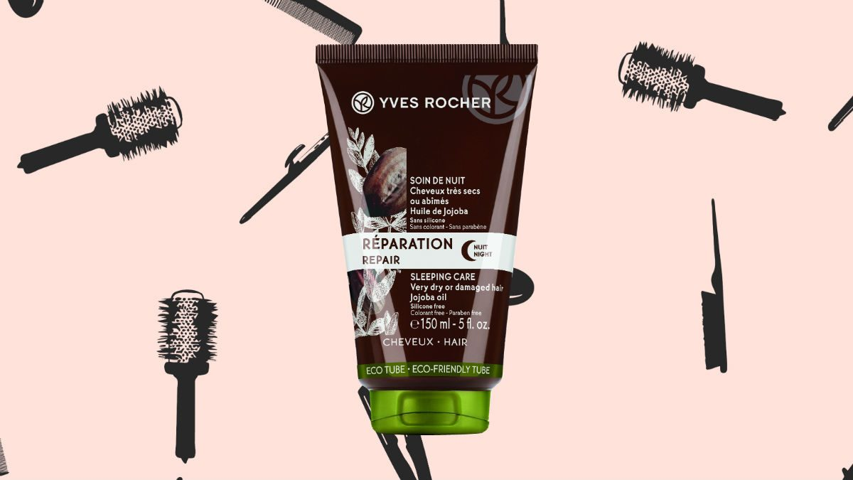 winter hair masks Yves Rocher Repair Sleeping Care