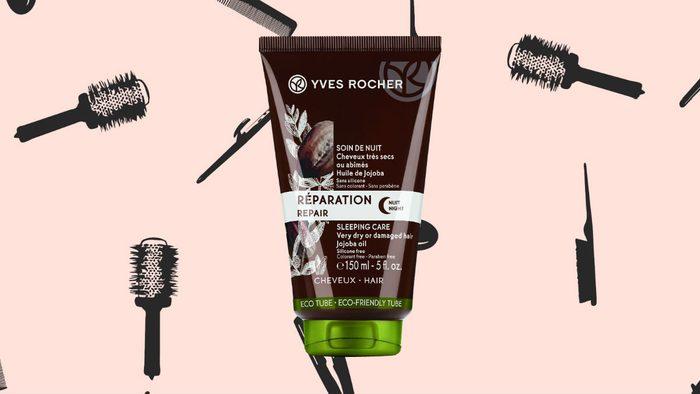 winter hair masks Yves Rocher Repair Sleeping Care