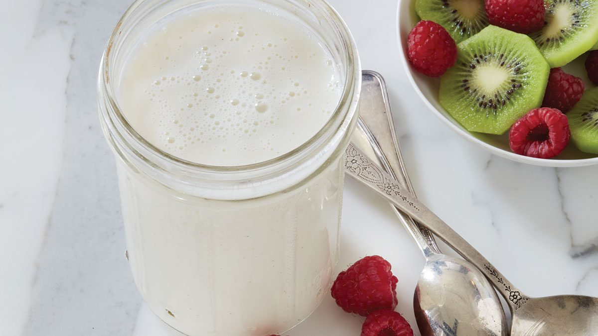 How to Make Coconut Kefir
