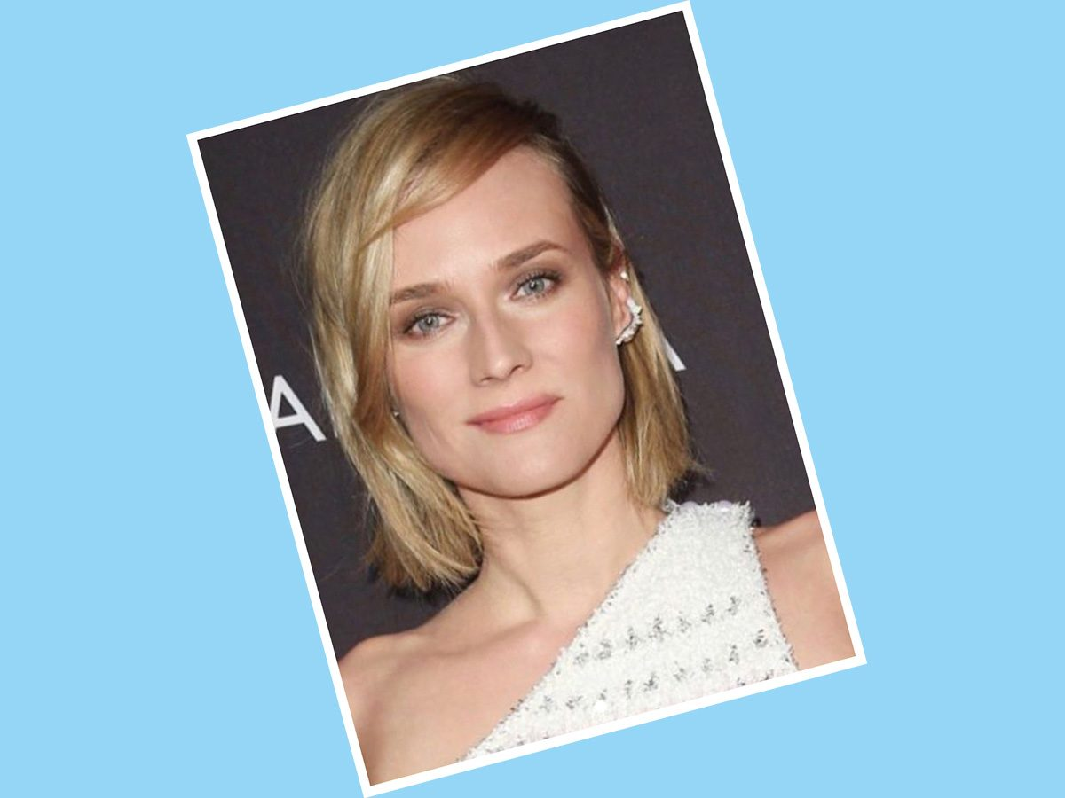 Diane Kruger with short hair