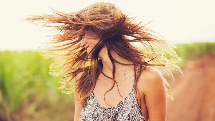 Evening Primrose Oil, hair