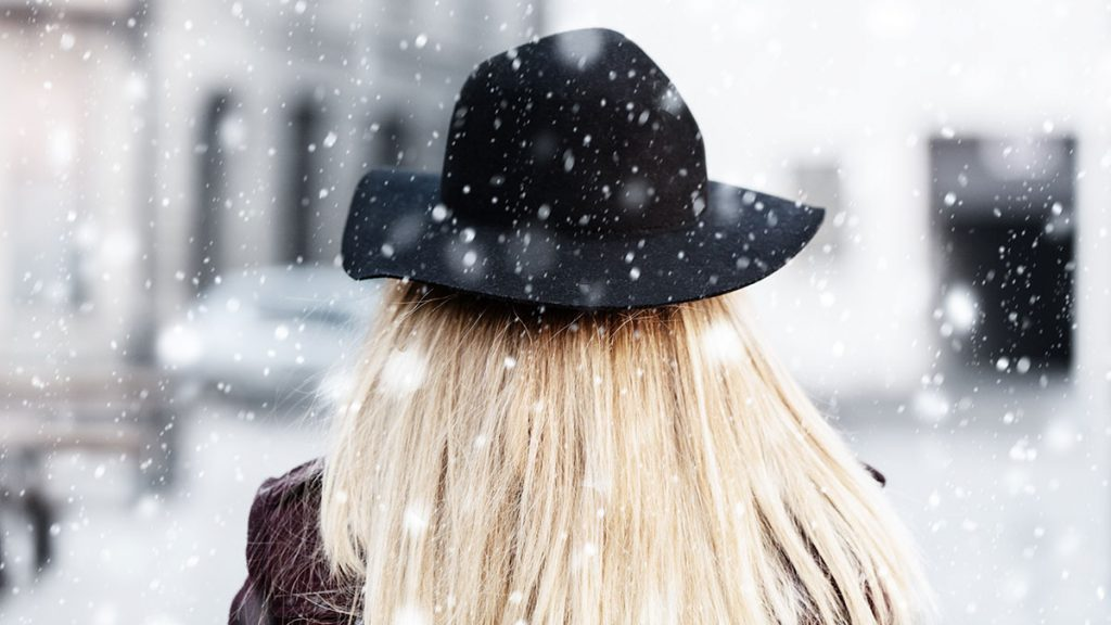 winter hair breakage