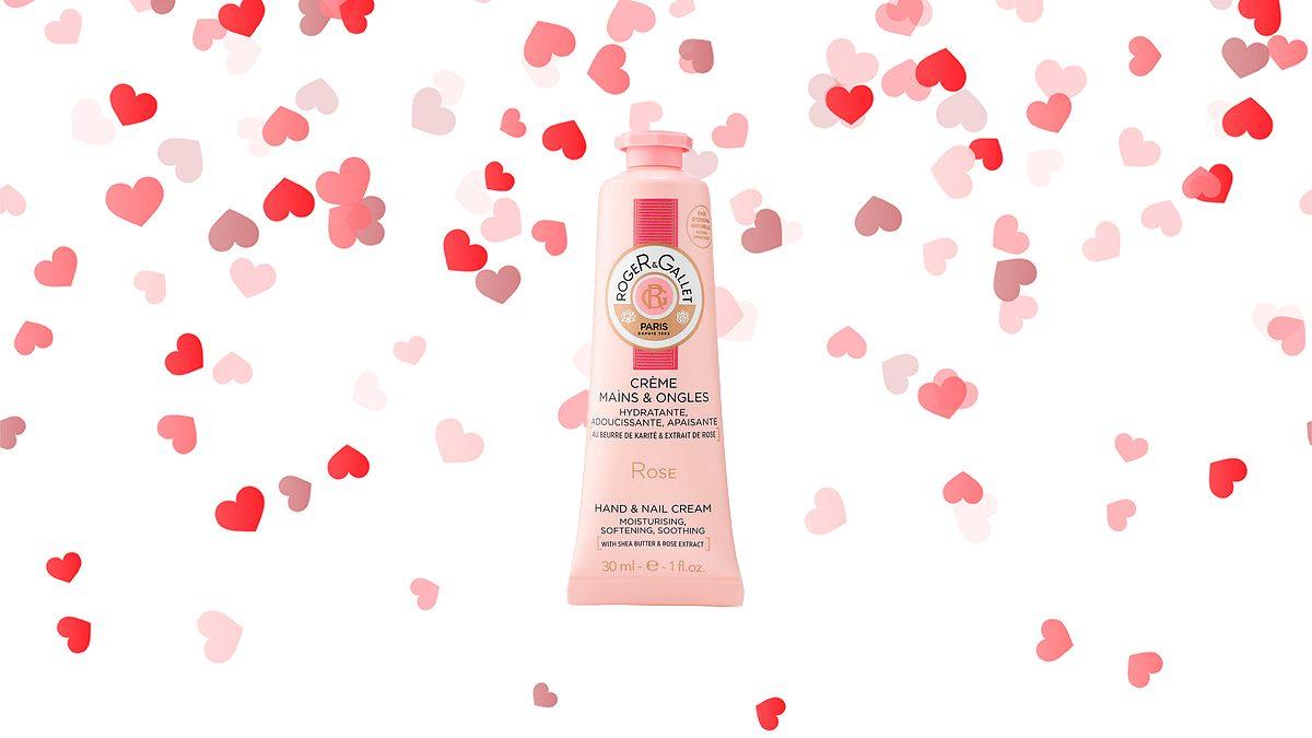 Valentine's Day, hand cream